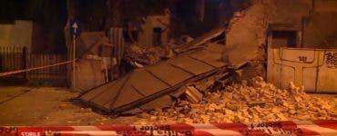 O clădire-monument s-pa prăbușit