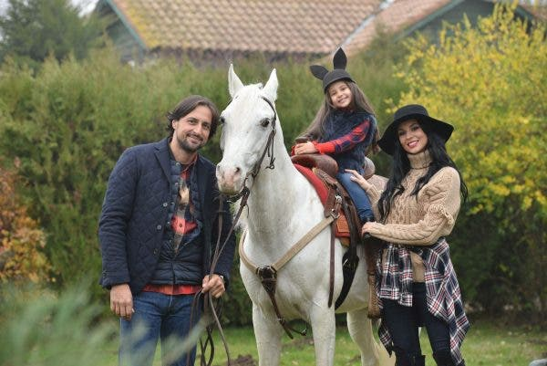 Denis Stefan si familia