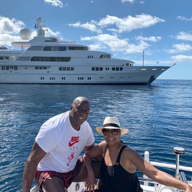 Magic Johnson barca