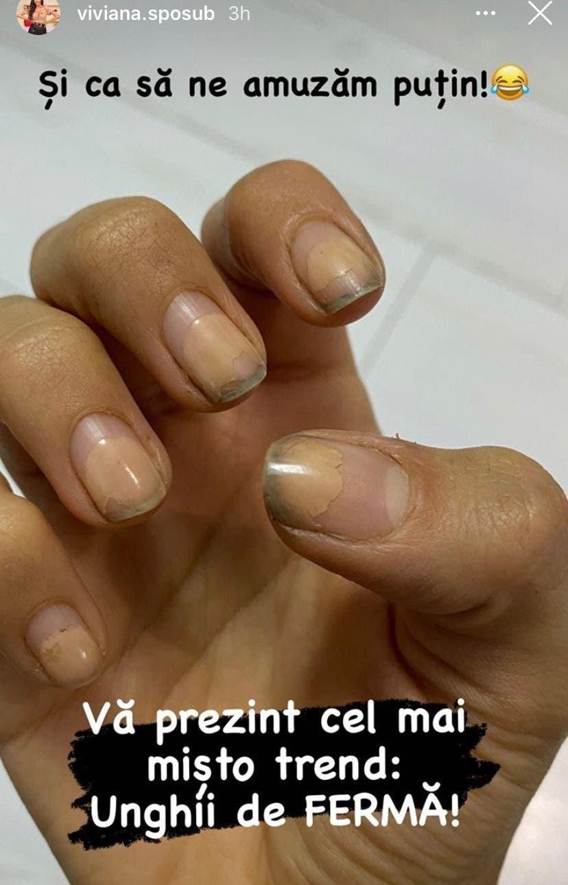 Cum arată unghiile Vivianei Sposub