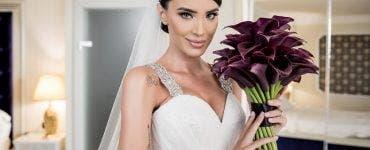 Adelina Pestrițu își licitează rochia de mireasă