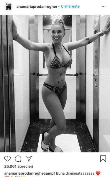 Anamaria Prodan poza incendiara in lift