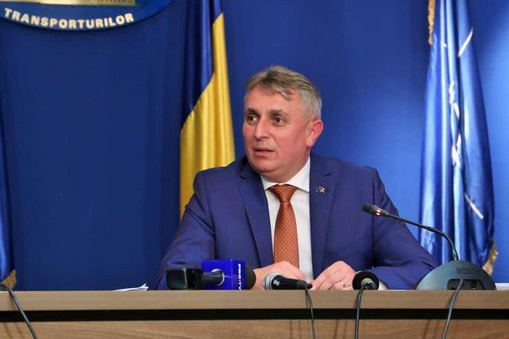 Lucian Bode, ministrul Transporturilor