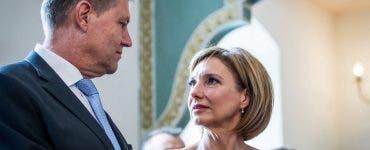 Klaus Iohannis si soția lui