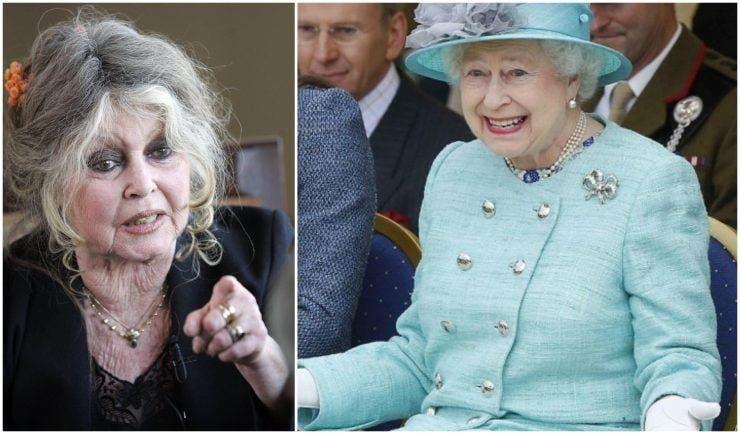 Regina Elisabeta și Brigitte Bardot au murit online