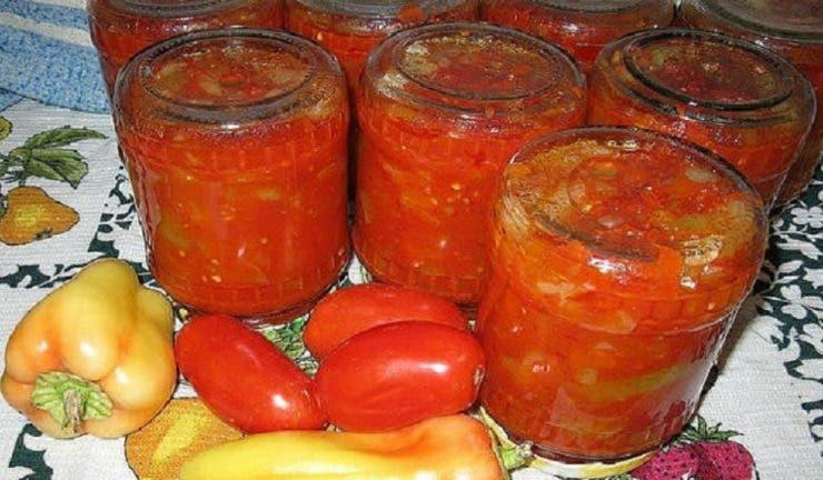 Salata de rosii pentru iarna