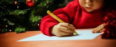 Scrisoarea unui copil de opt ani către Moș Crăciun