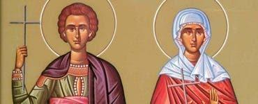 Sfinţii Mucenici Galaction şi Epistimi