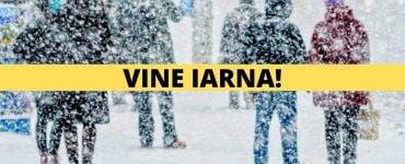 Vine iarna în România