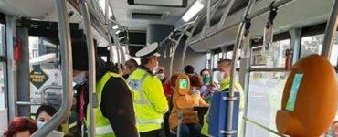Controale și amenzi în autobuzele din București