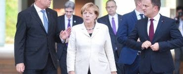Angela Merkel și Klaus Iohannis au vorbit la telefon