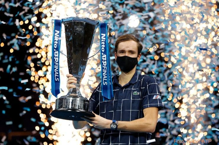 tenis, Turneul Campionilor, Daniil Medvedev