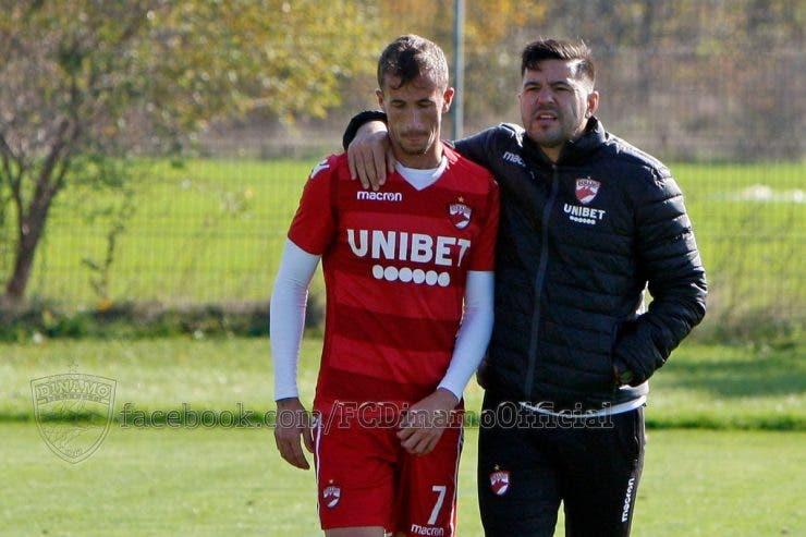 Dinamo, Cosmin Contra a plecat