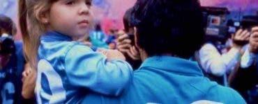 fiica Maradona, Diego Maradona,