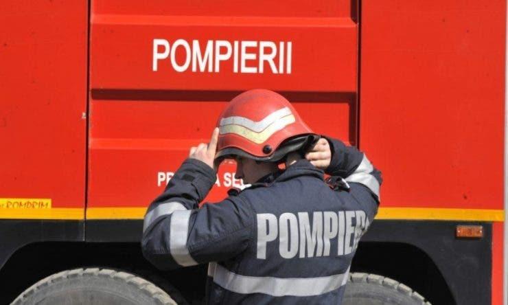 A fost incendiu la Spitalul CFR din Cluj