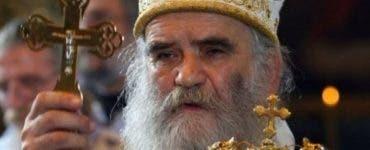 Înmormântarea mitropolitului Bisericii Ortodoxe Sârbe