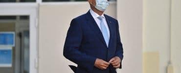 Klaus Iohannis, despre criza sanitară