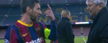 mircea lucescu, Leo Messi, dinamo kiev,