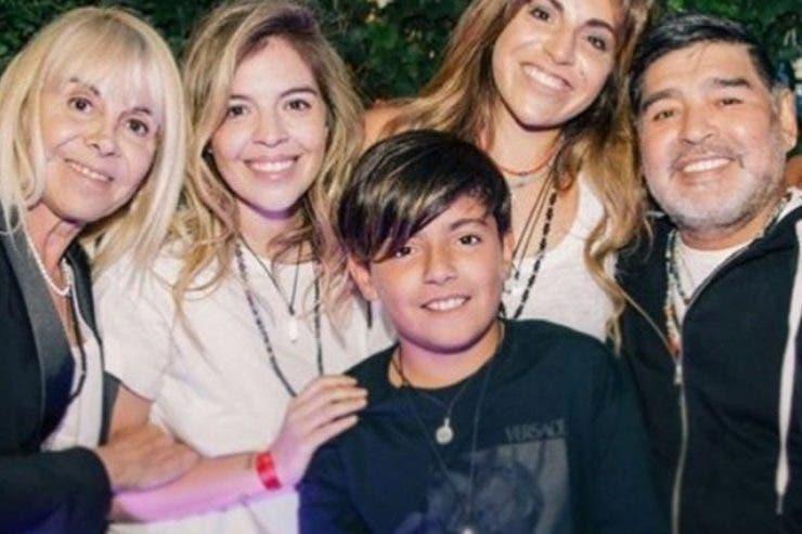 Diego Maradona, mostenire, copii