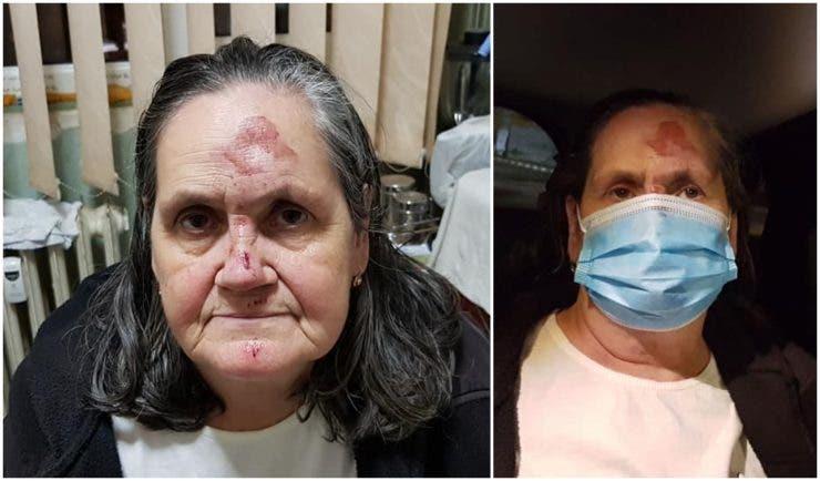 Bătrâna a fost dată afară din Spitalul Universitar