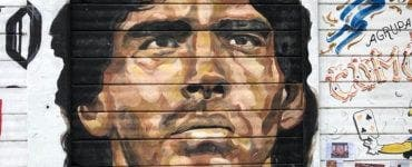 ultima imagine cu Maradona, Dalma, Diego Maradona,