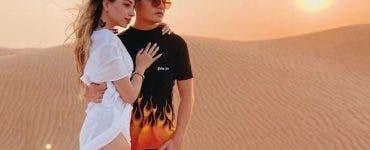 Selly și-a dus iubita în Dubai