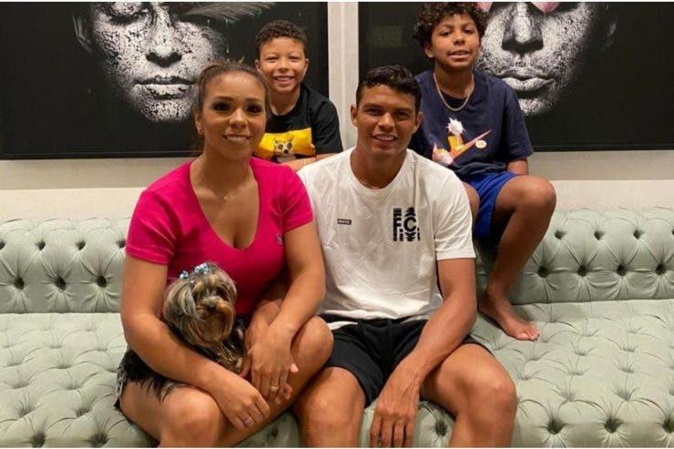 Thiago Silva soție, Chelsea,
