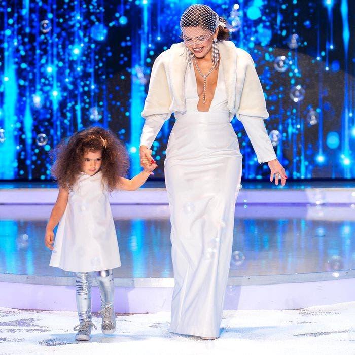 Cristina Șișcanu a purtat cea mai decoltată rochie