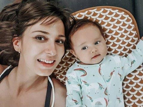 Dana Rogoz și-a început aventura cu fiica ei