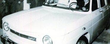 Nicolae Ceaușescu si masina sa