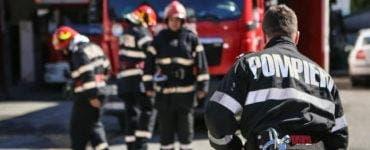 Incendiu la o secție de votare din județul Prahova