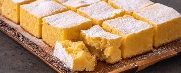 Rețetă prăjitură cu mălai