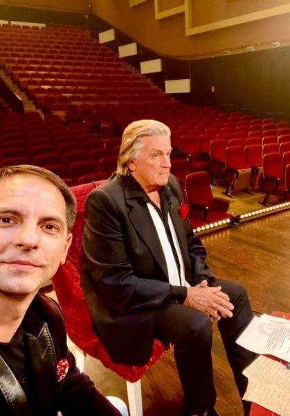 Dan Negru și Florin Piersic
