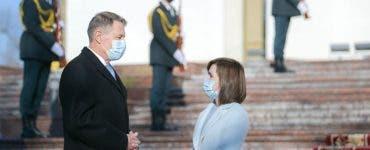 Maia Sandu a încercat să o imite pe Carmen Iohannis! Cum a apărut aceasta la întâlnirea cu președintele României