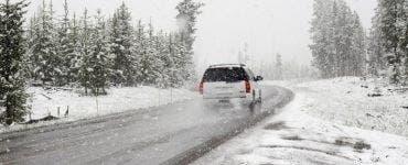 Avertizare meteo! Ninsori și polei în mai multe zone din țară