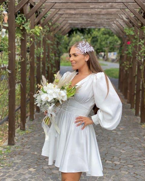 Oana Radu s-a căsătorit cu Cătălin Dobrescu