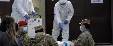 A doua tranşă de vaccin împotriva Covid-19 ajunge în România