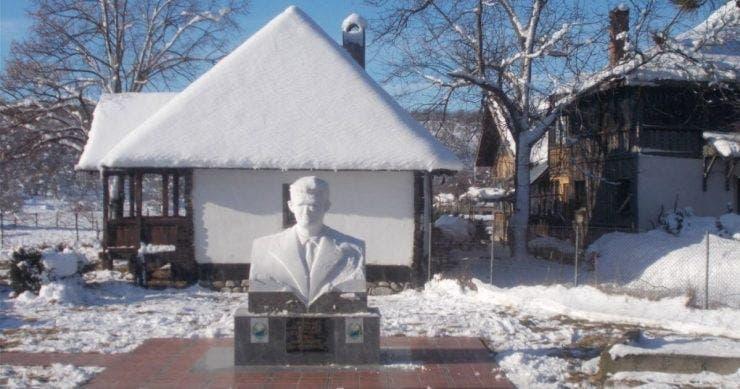 Casa părintească a lui Nicolae Ceaușescu