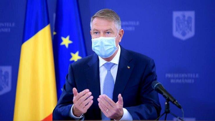 Președintele României, mesaj pentru cei care nu vor să se vaccineze