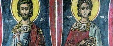 Sfinții Mucenici Ermil şi Stratonic