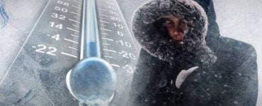 Ger în toată România! Temperaturile ajung și la aproape -23 de grade