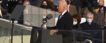 Imagini de la ceremonia de investire a noului președinte american. Joe Biden și-a început mandatul