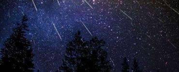 Fenomen astronomic spectaculos în această seară! Prima ploaie de stele căzătoare din 2021