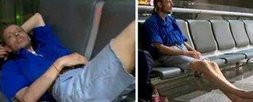 A așteptat 10 zile la aeroport o femeie pe care dorea să o cunoască.