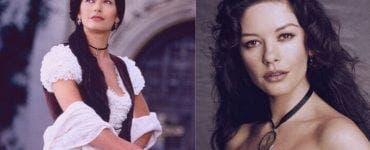 Catherina Zeta-Jones a ajuns de nerecunoscut!