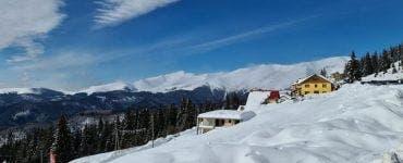 Câți centimetri măsoară stratul de zăpadă la munte