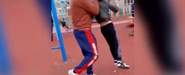 Copil lovit intr-un parc din Hunedoara