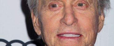 Michael Douglas a ajuns de nerecunoscut! Cum arată actorul la vârsta de 76 de ani