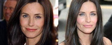 Operațiile estetice au transformat-o complet pe actrița Courteney Cox