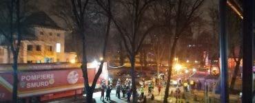 Un nou spital din Capitală, cuprins de flăcări! Degajare de fum la secţia ATI de la Institutul Marius Nasta